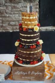 3 tier naked cake, starting at £275