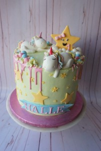 Lazy Unicorn cake